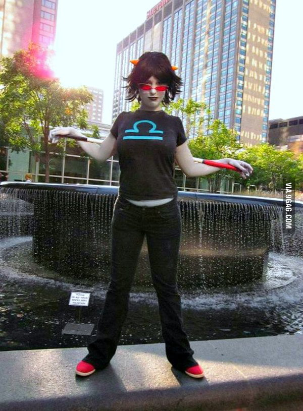 Homestuck: Terezi Pyrope-Blind Justice
