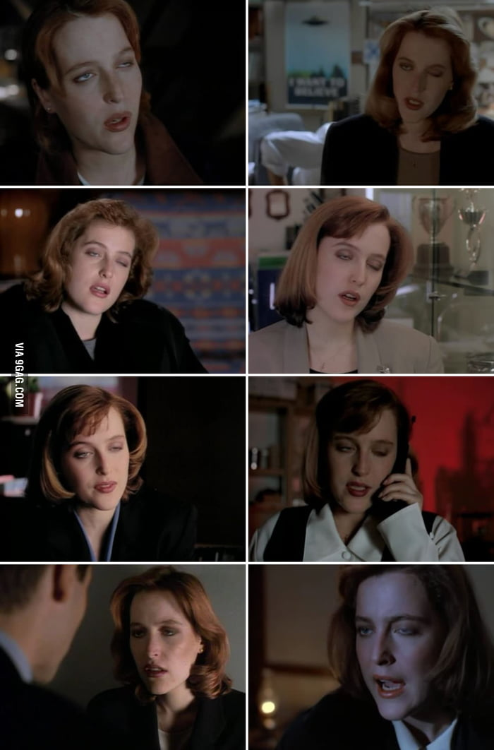 Sorry Scully, you know I love you, but this is too funny