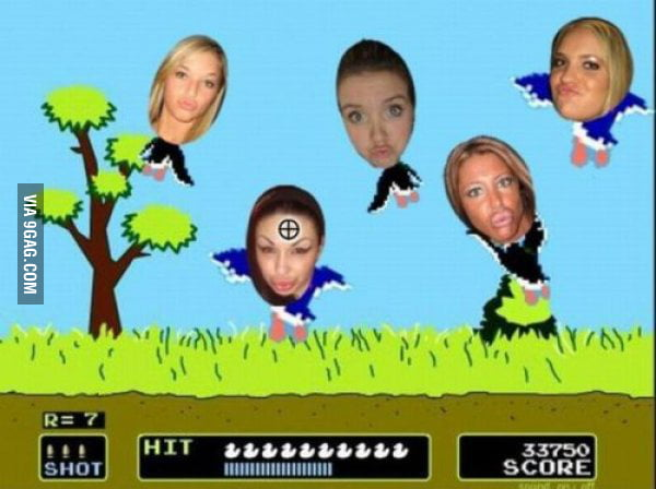 Duck Face Hunt