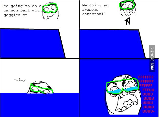 Goggle rage
