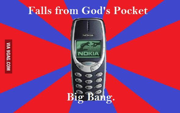 Just Nokia 3310...