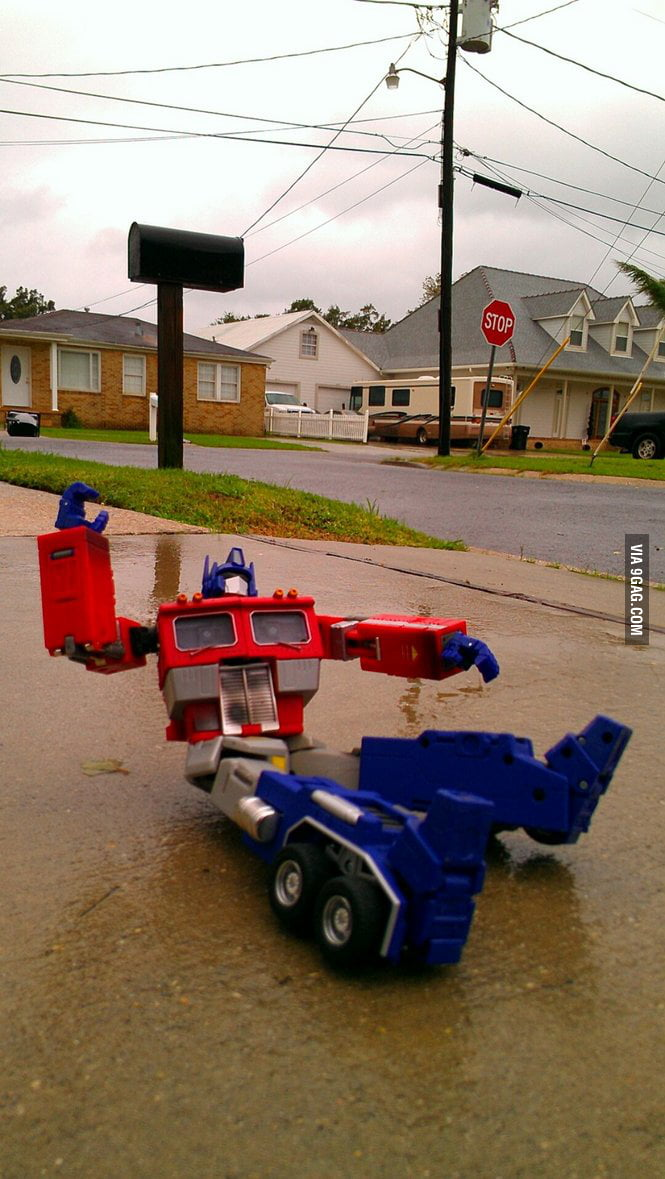 Downed Transformer in New Orleans as Isaac passes through.