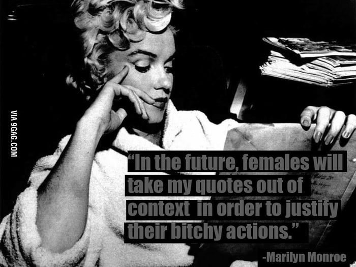 Marilyn Monroe's quote