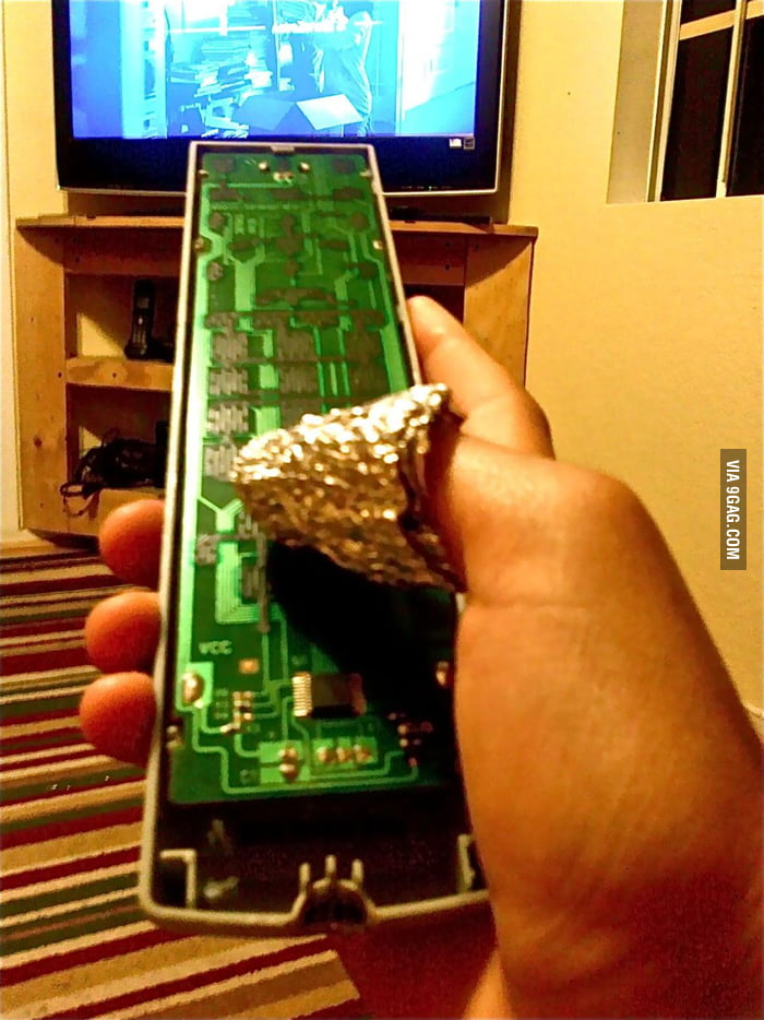 My TV remote is broken but...