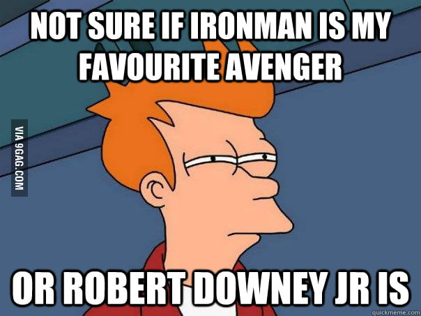 After watching the Avengers again