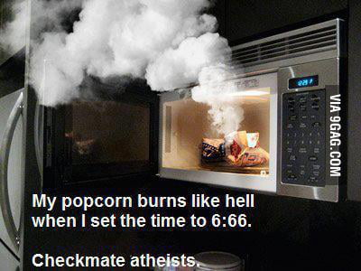 Checkmate atheists!