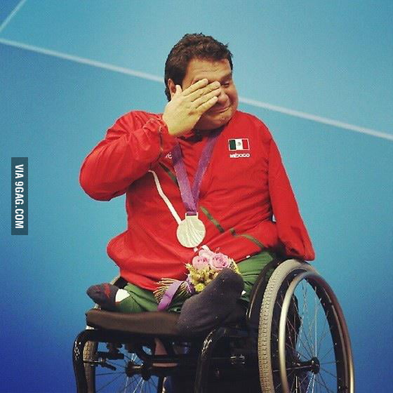 First medal for Mexico in paralympics
