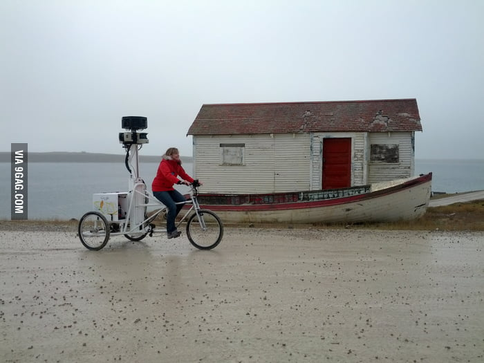 How Google gets street view data in the Arctic.