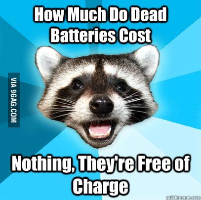 Free Batteries!