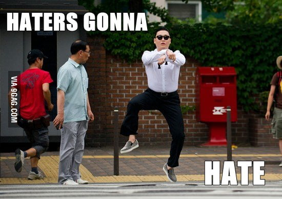 One does not simply hate Gangnam Style
