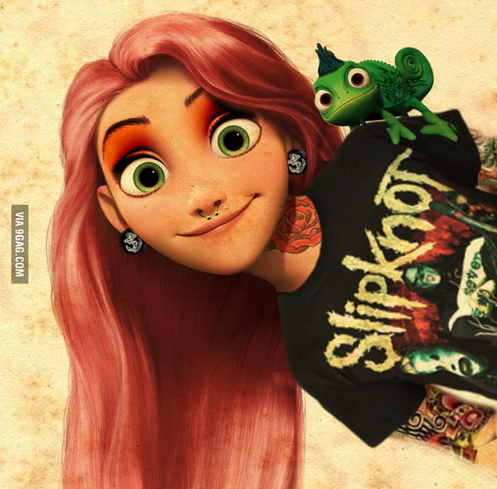 I like this version of Rapunzel better.