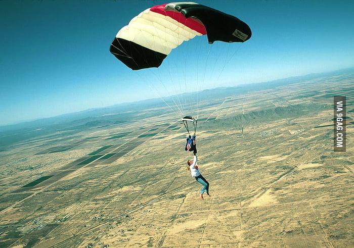 Parachute Accident