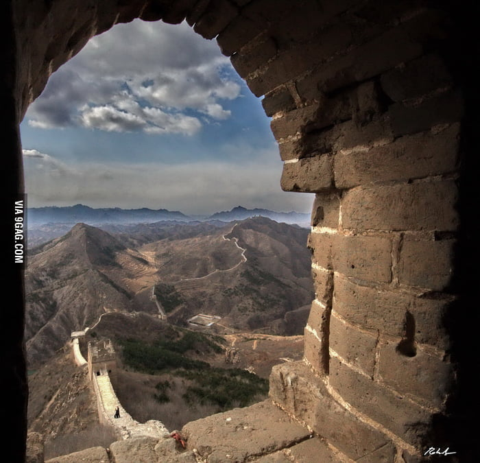 View of the Great Wall from the Great Wall