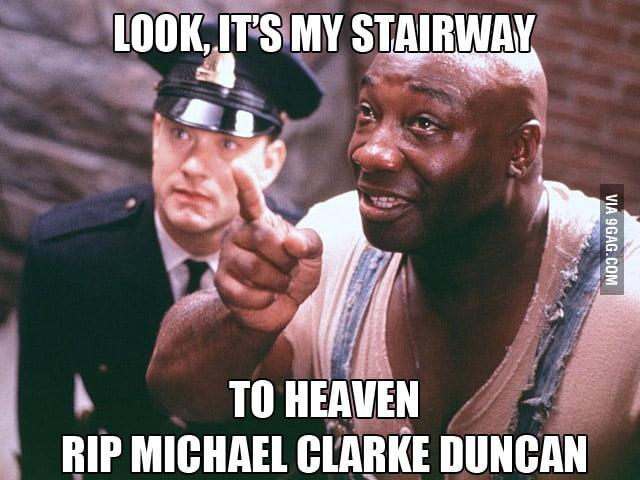 RIP Michael Clarke Duncan