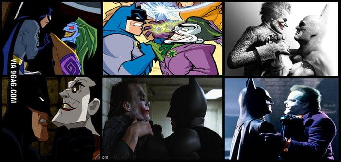 Batman vs Joker
