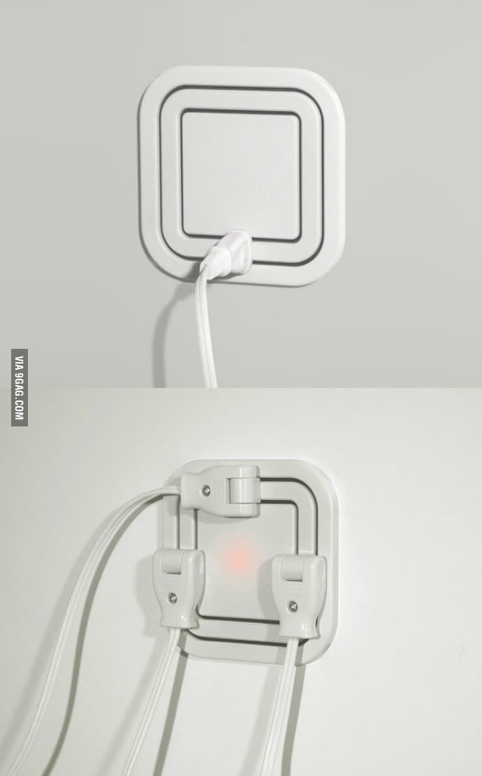 Clever Power Outlet Design