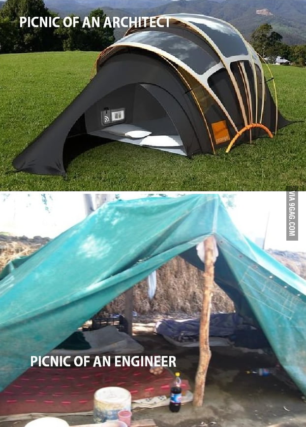 Architects vs Engineers