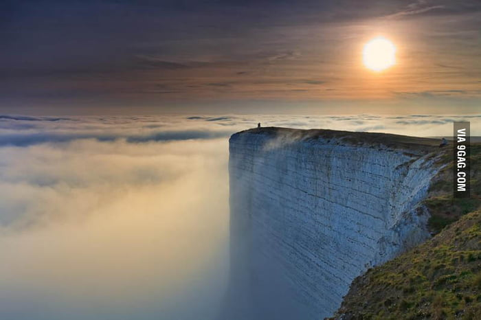 The edge of the world (in England)