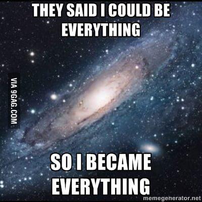 Succesful Universe!