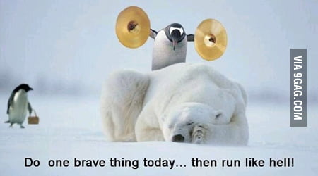 Do one brave thing today