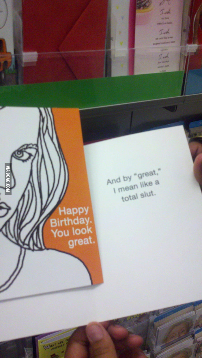 The best birthday card for the person you hate.