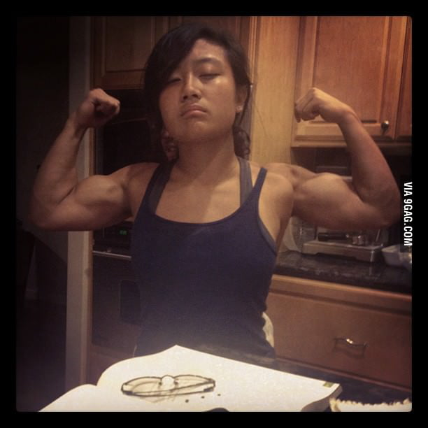 Strong Asian Girl?