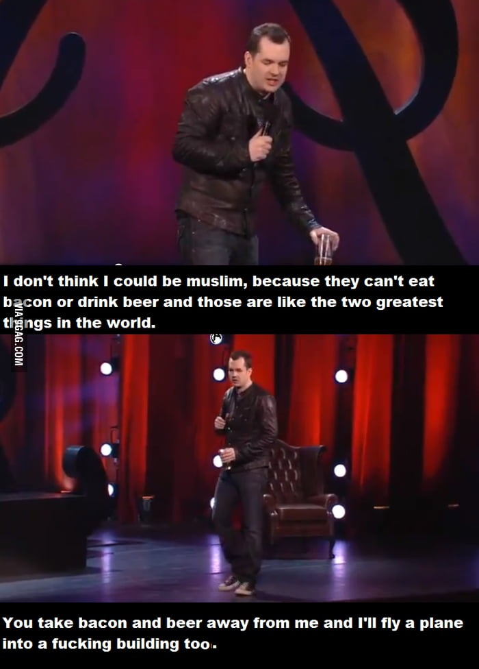 Jim Jefferies explains terrorism