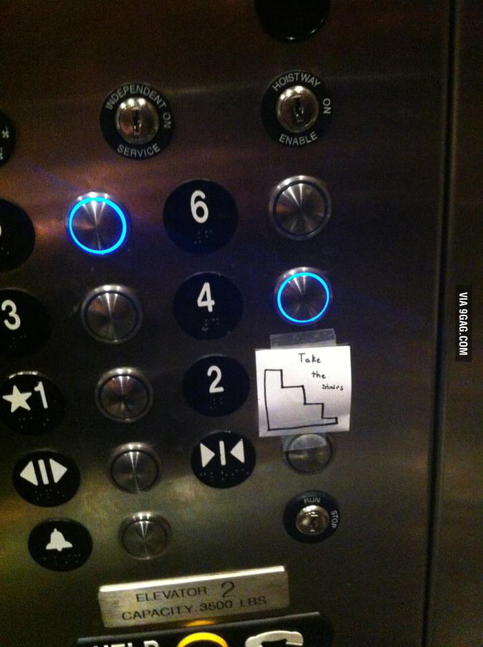 How the elevator should work