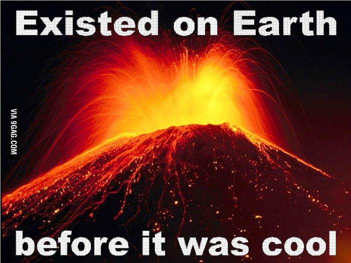 Hipster Volcano