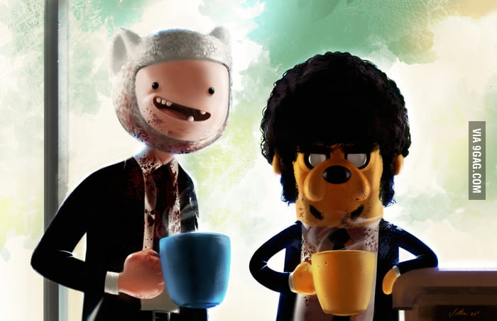Adventure Time x Pulp Fiction
