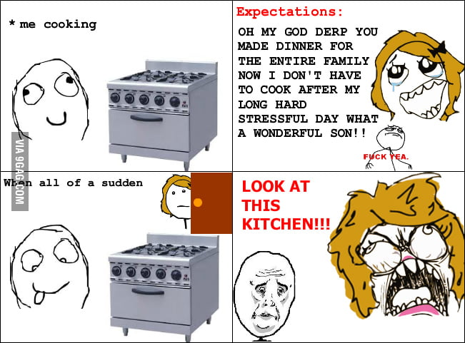Everytime I make a meal