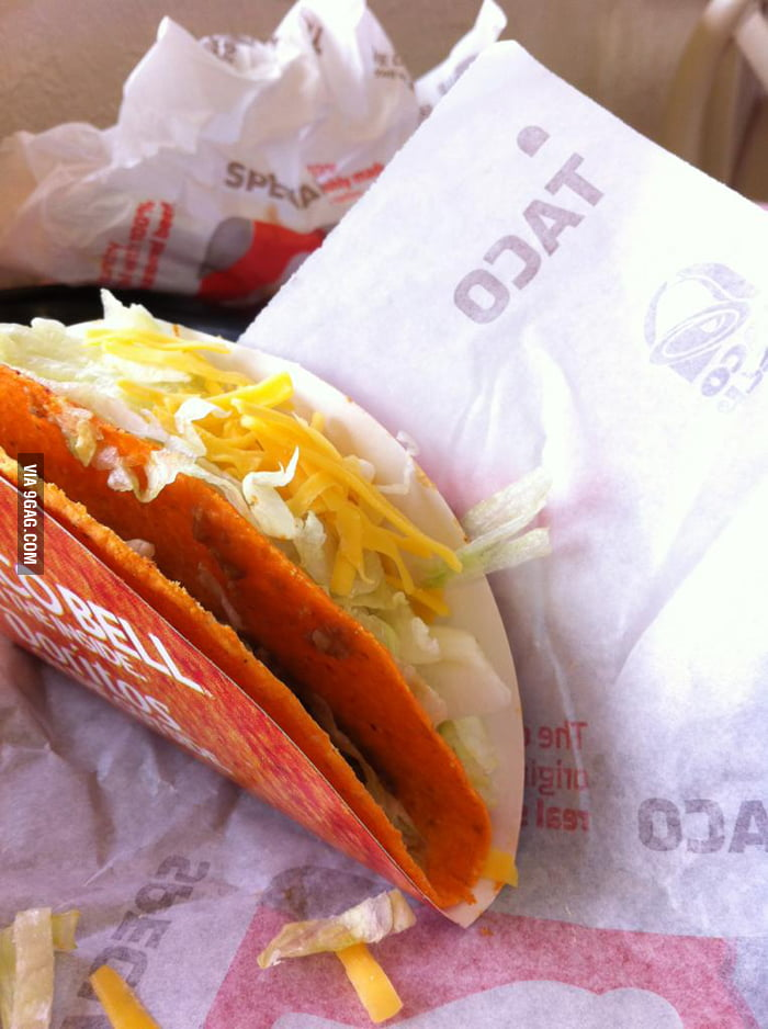 You had one job only, Taco Bell!