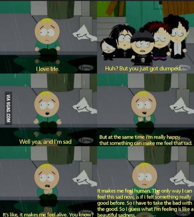 South Park on Breaking Up.