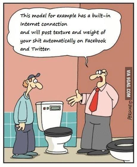 Hipster toilette
