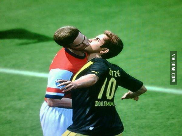 This happened while playing the FIFA 13 demo