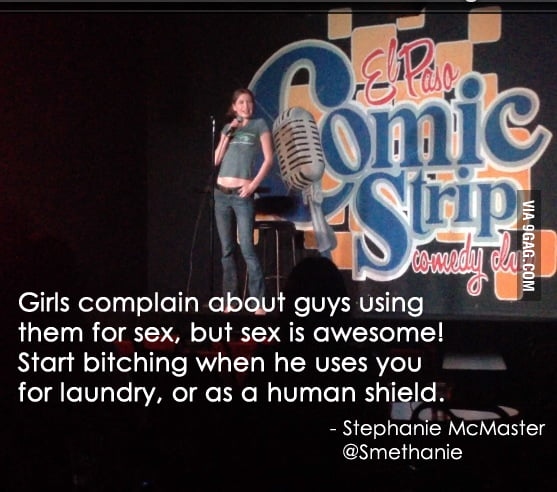 Girls, don't complain about guys using you for sex.