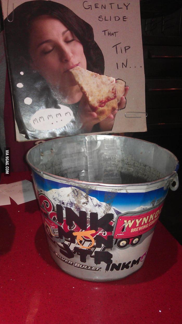 A proper tip jar