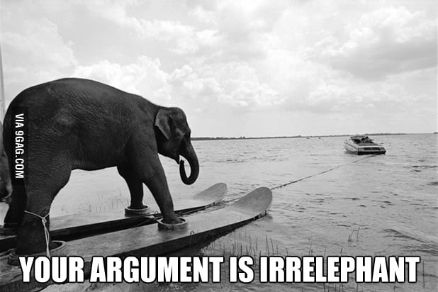 Your argument is...