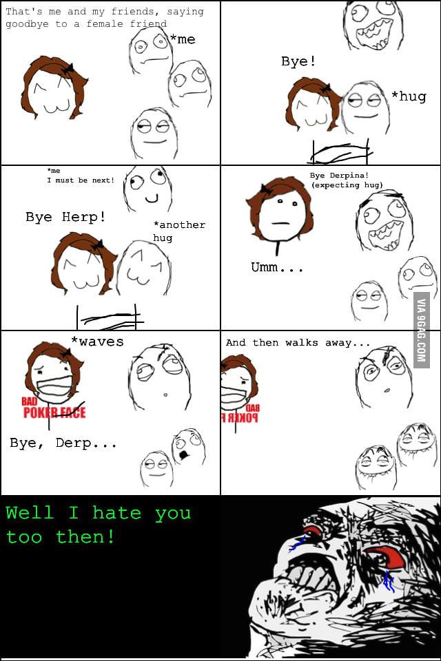 Y U No Hug Me?