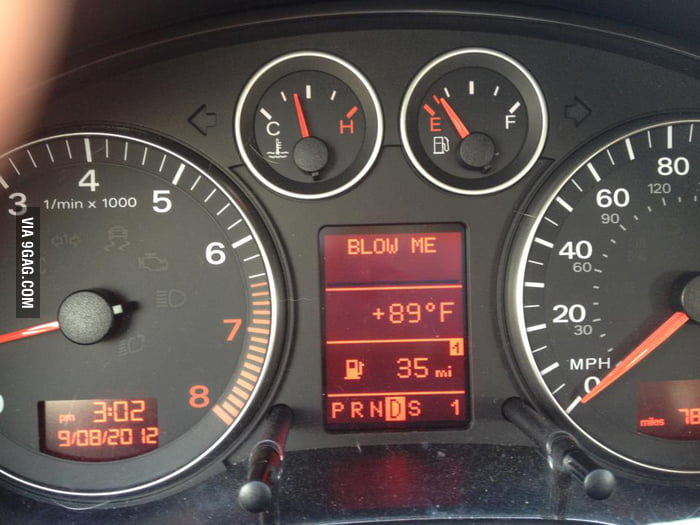 My car is horny.