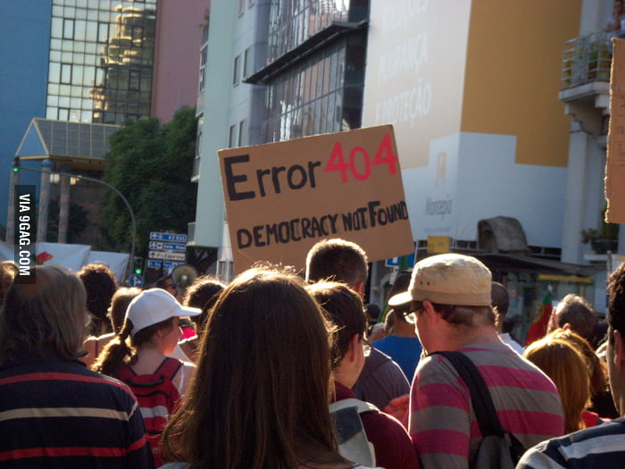 Protest in Portugal