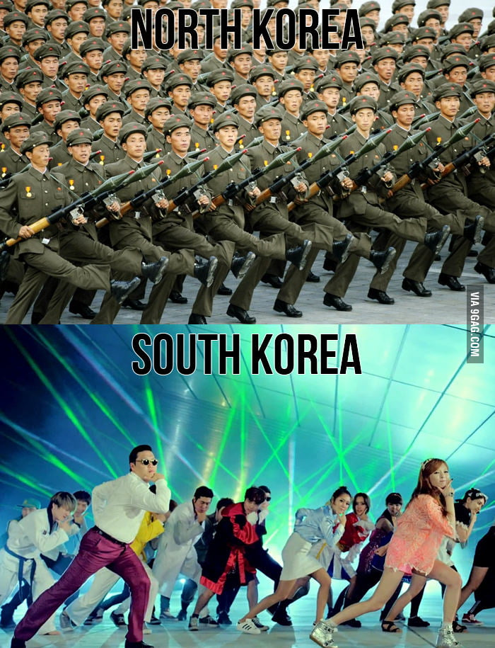 Know the difference: North Korea vs South Korea