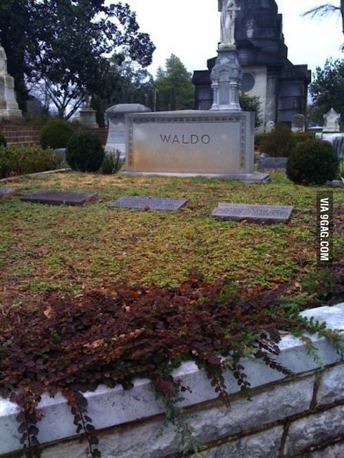 A disappointing end to the search of Waldo.