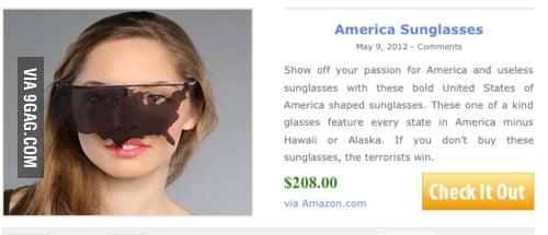 America Sunglasses... wut?!