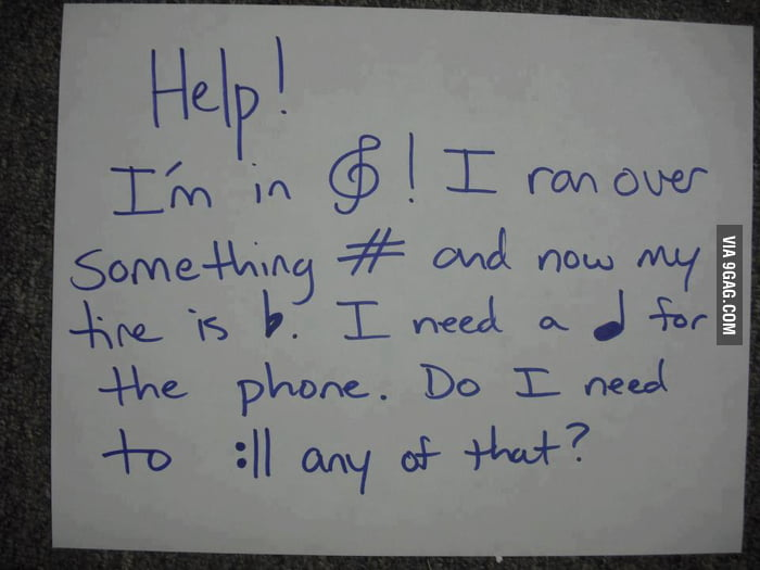 Help! I'm in Treble!