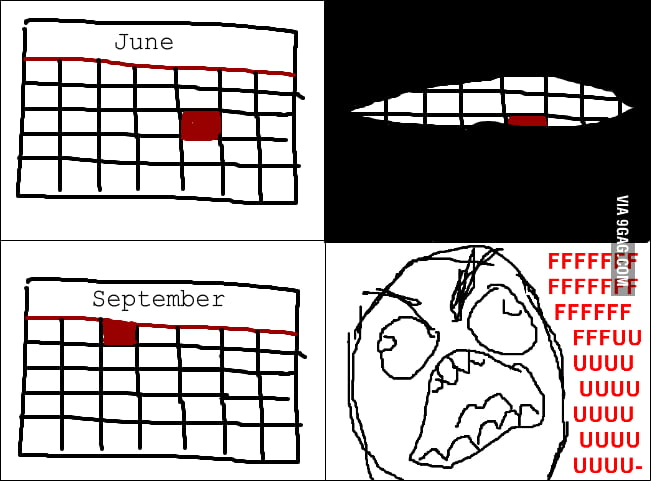 How my summer went.