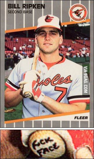 Best baseball card ever.