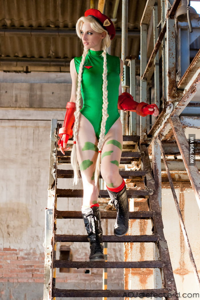 Cammy in Street Fighter