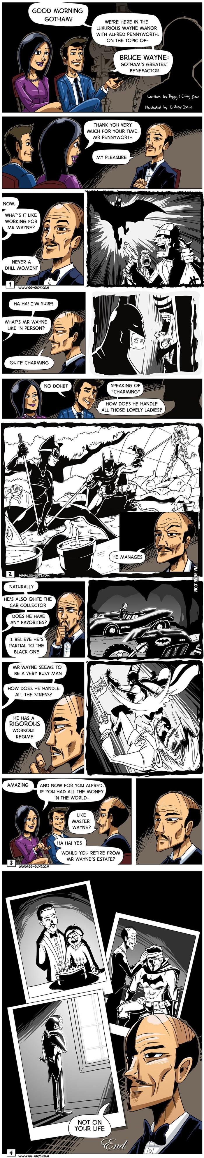 Alfred loves batboy