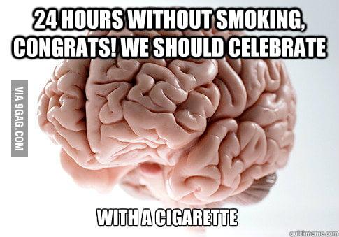 I quit yesterday